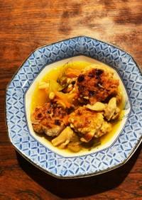 豚肉団子の茸&野菜マリネ和え