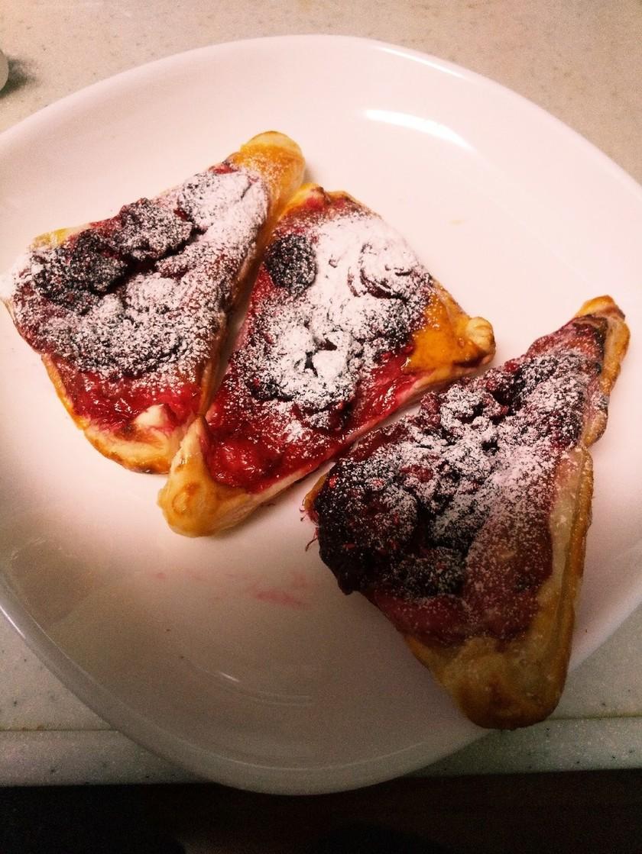 冷凍パイシート☆ラズベリーのオープンパイ