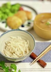茹でもやしを白ご飯風に☆ダイエット定食