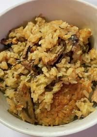 サンマの蒲焼き缶 炊き込みご飯
