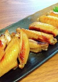 手羽中のりんご酢ペッパー焼き