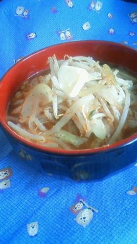 野菜たっぷり☆ゴマ味噌バターラーメン