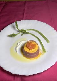 【レシピコン】人参と干柿のムース