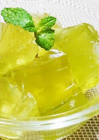 レモングラスパウダーでレモングラスゼリー