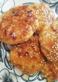 簡単♪鶏ひき肉でふんわり豆腐バーグ