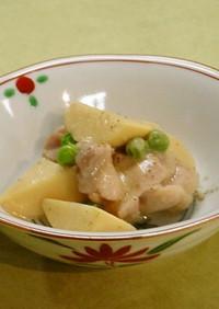 筍と鶏肉の白みそ煮