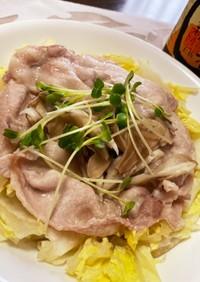 ◆簡単 豚肉と白菜のレンチン蒸し◆