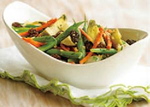 美味しい季節野菜のソテー
