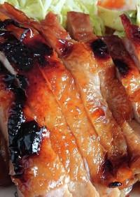 鶏もも肉のグリル照り焼き