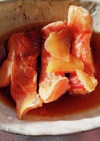 冷凍赤魚の煮魚
