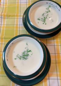 ホワイトアスパラガスのミルクスープ
