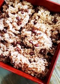 【圧力鍋】お赤飯 ~もち米のみ~