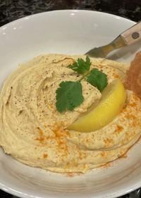 塩レモンで作るハムス(Hummus)