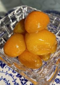 金柑の龍眼はちみつ甘露煮