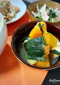 南瓜と厚揚げの煮物