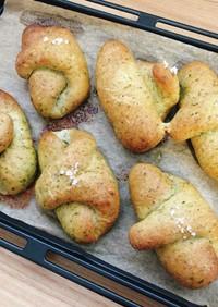 小松菜の塩パン