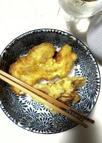 簡単!天ぷら粉でカレーかしわ天♪