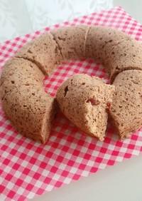 なつめとクコの実のおから蒸しパン