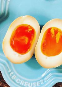 1#白鳳卵と柿たま醤油で作るとろ~り味玉