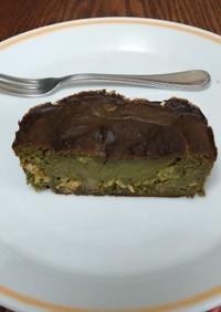 アボカドと抹茶ソフトケーキ