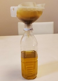 揚げ油の保存方法