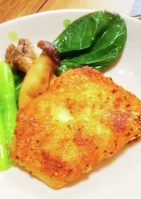 白身魚の香草ガーリックチーズ焼き