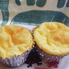 卵1個で少量ベイクドチーズケーキ