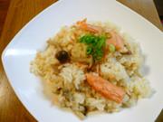 炊飯器で簡単☆鮭としめじのマヨピラフの写真
