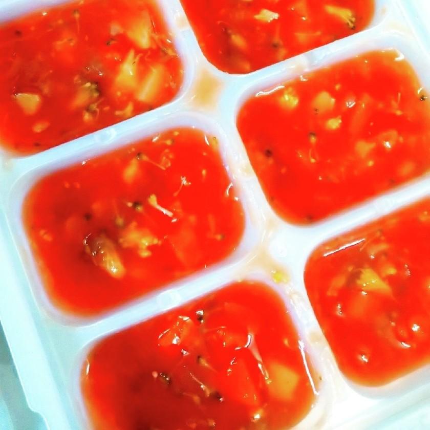【離乳食中期~】万能トマトスープ