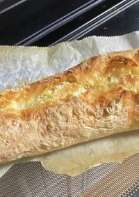 薄力粉でフランスパン
