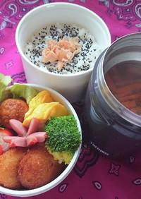 ❜21/3/22 豆腐入肉団子弁当