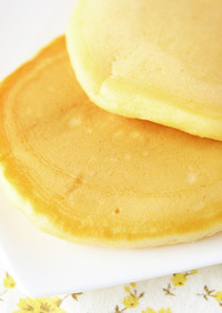 米粉:薄力粉の黄金比率で作るホットケーキ