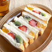 豆乳ヨーグルトフルーツサンドの写真