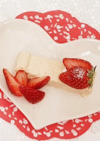 レンジ簡単☆おからスティックチーズケーキ