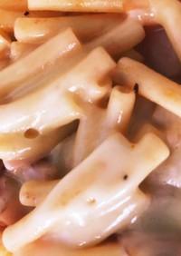 トマトとチーズのピリ辛腸活マカロニ