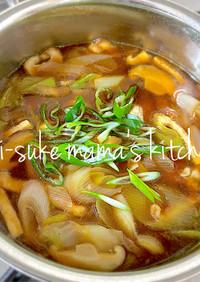 元祖田舎っぺ❤武蔵野肉汁うどんの汁。ஐஃ