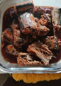 骨ごと食べられるサンマの煮物