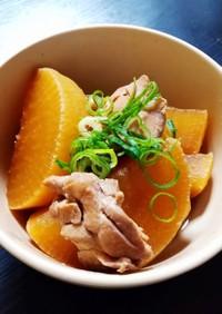 ジュワジュワ☆大根と鶏ももの甘辛煮
