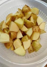切った野菜の水気を簡単に切る方法