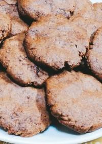簡単♡サクサク板チョコとココアのクッキー