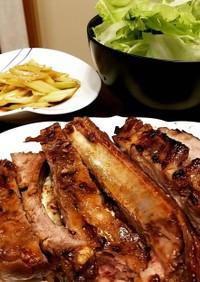 簡単パーティー料理バーベキュースペアリブ