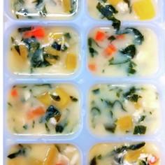 【離乳食中期~】簡単コーンスープ