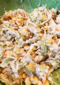 低カロリーのコールスローサラダ