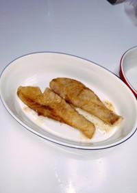 冷凍鮭の簡単ムニエル