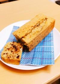 豆乳バナナチョコケーキ