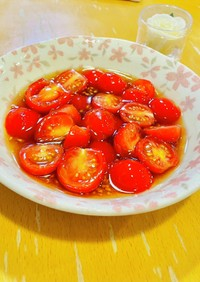 簡単常備菜♪ミニトマトのマリネ☆お弁当