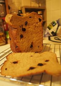 HBで基本の白神こだま酵母低糖ふすまパン