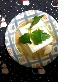 簡単!! 湯豆腐