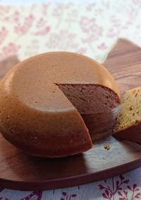 HMときな粉のケーキ(炊飯器)