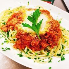 素晴らしく美味しいイタリアンパセリパスタ